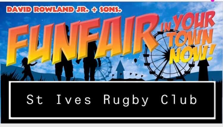 St Ives Fun Fair Poster