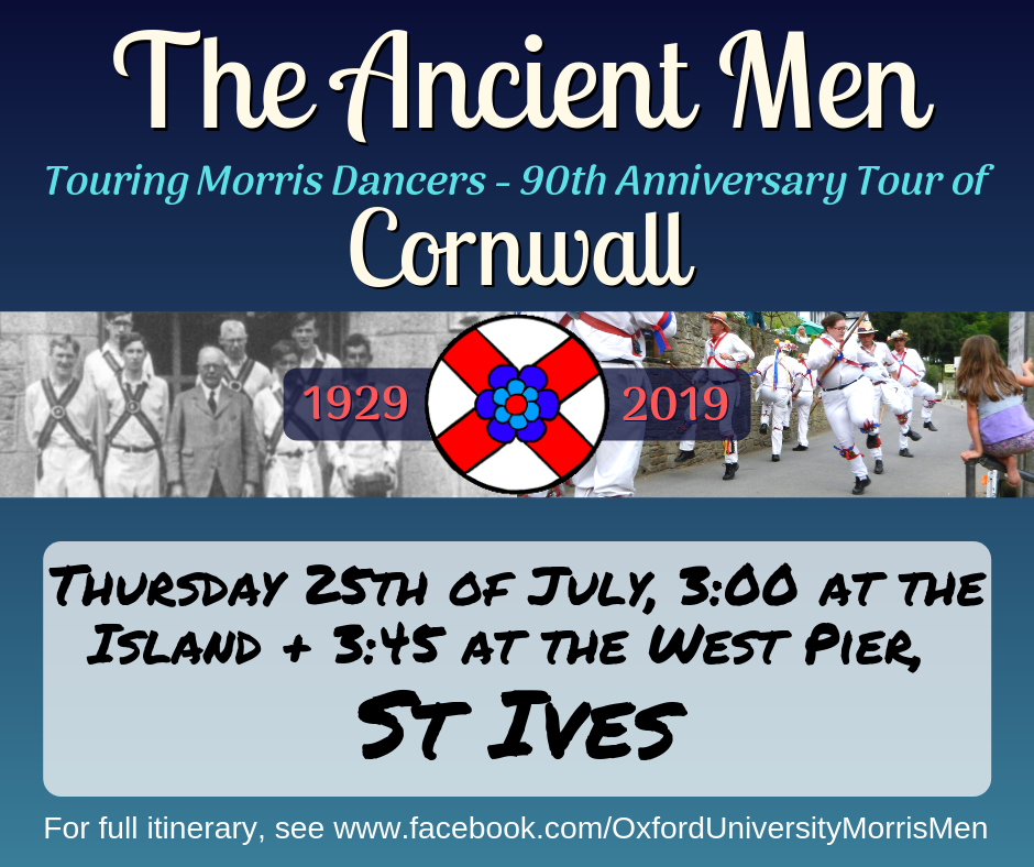The Ancient Men Touring Morris Dancers