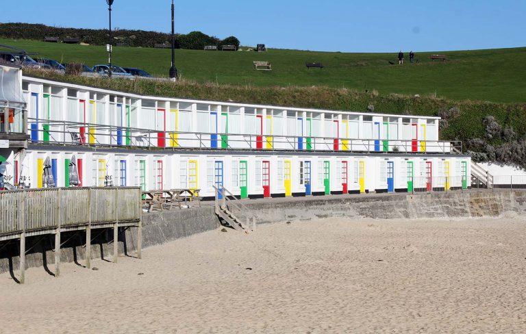 Beach Huts Porthgwidden