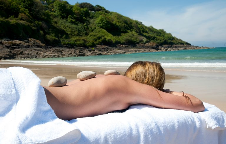 Carbis Bay Spa Beach Treatment
