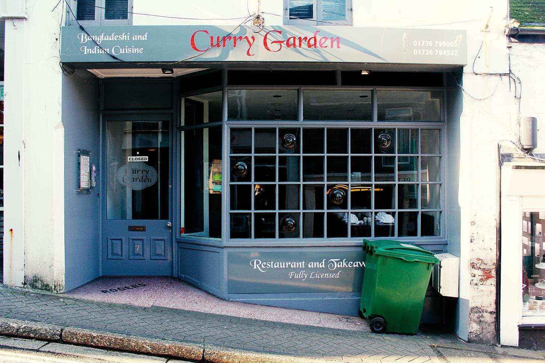 Curry Garden exterior