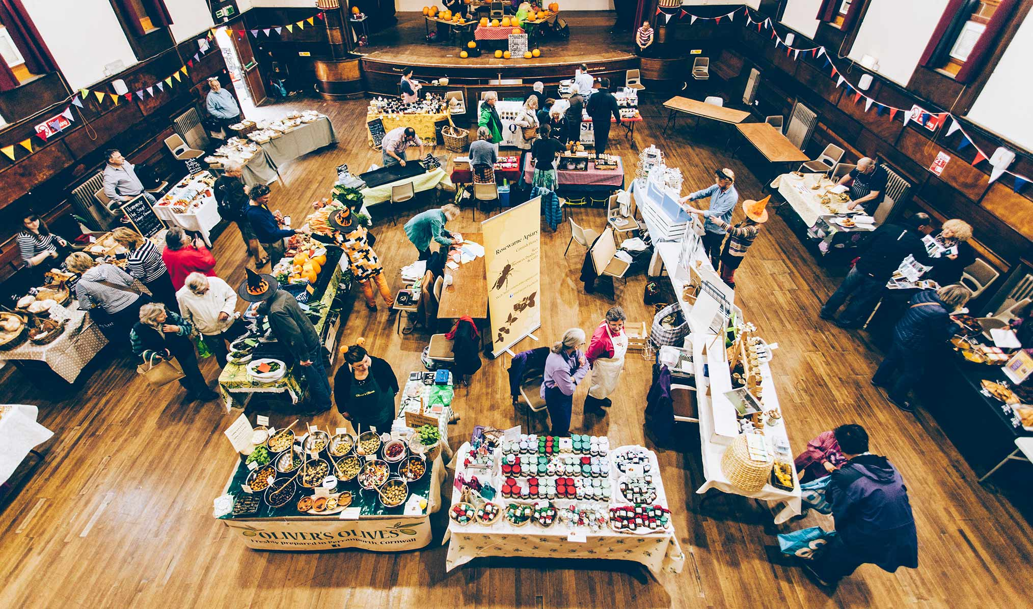 Market in the Guildhall