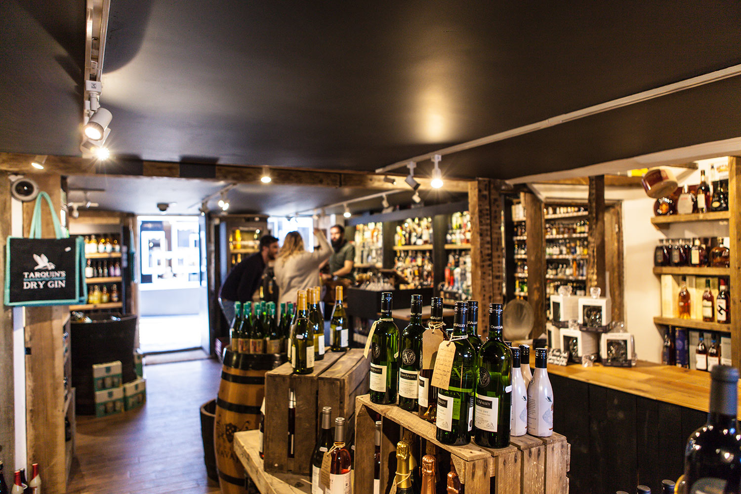 Johns Wine Store St Ives Cornwall