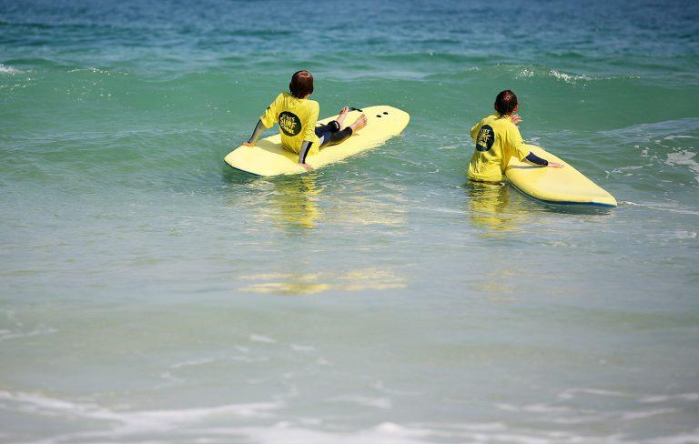 Kids Surfing Np