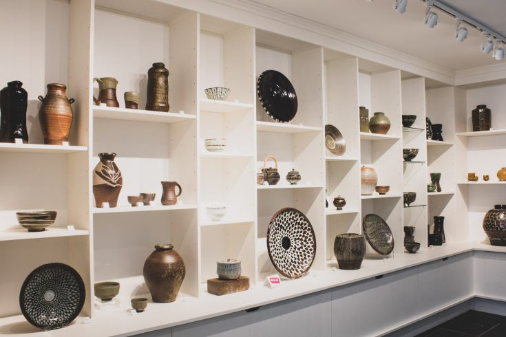 LeachPottery Roelof Uys Exhibition