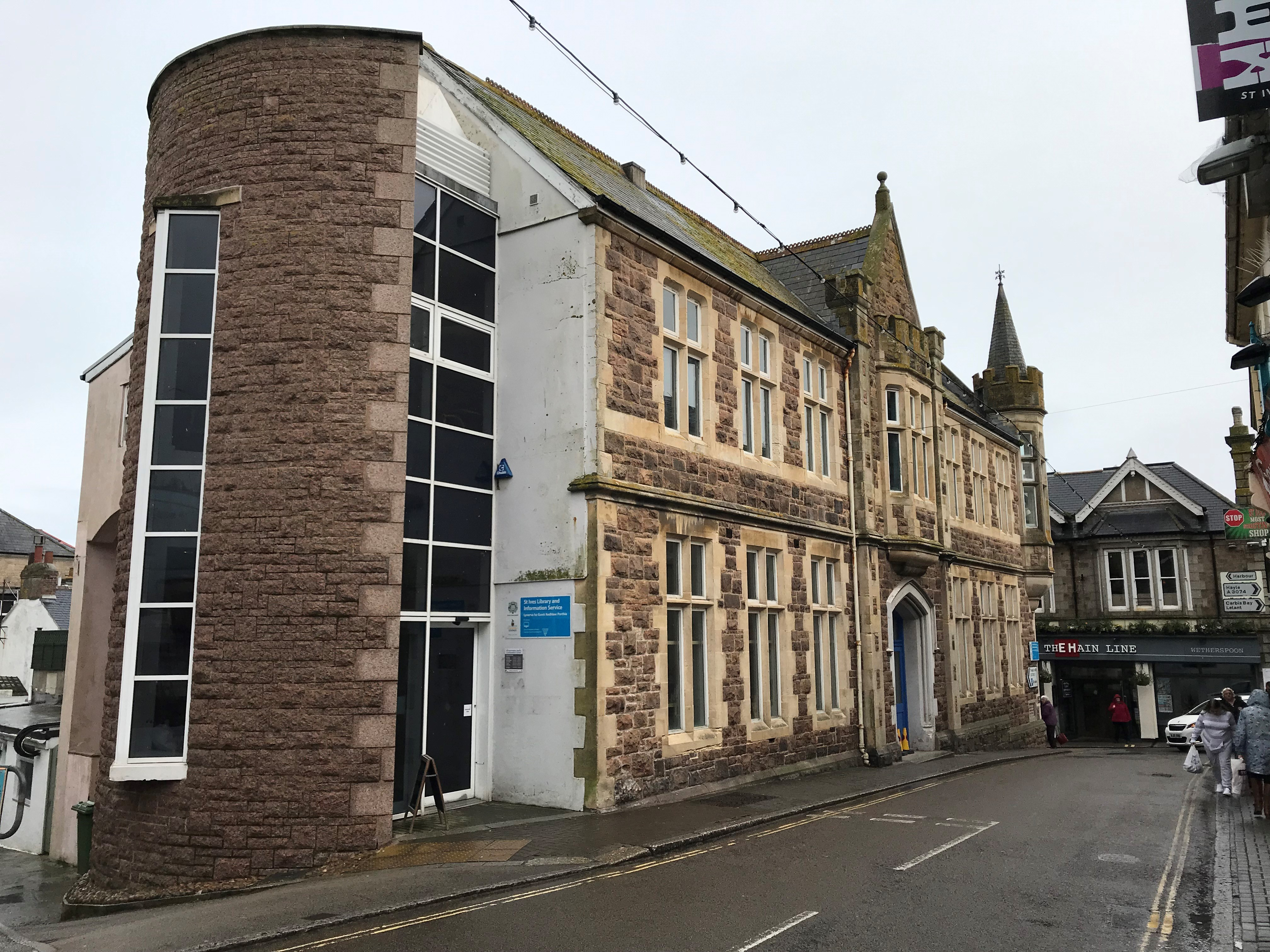 St Ives Library and Information Service building