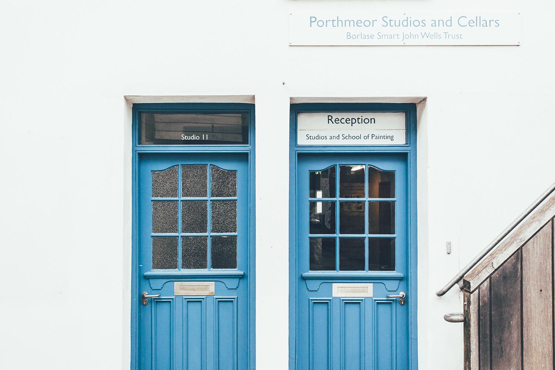Porthmeor Studios Doors Np
