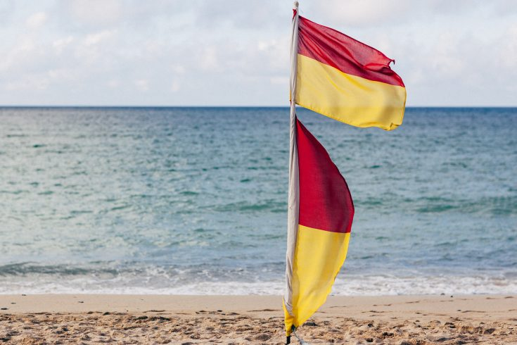 Rnli Flags Safety Np Feat
