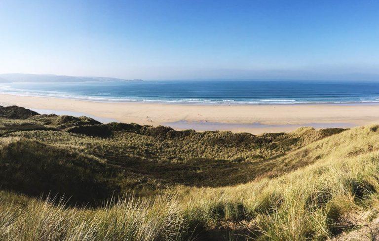 Hayle Towans Beach St Ives Cornwall