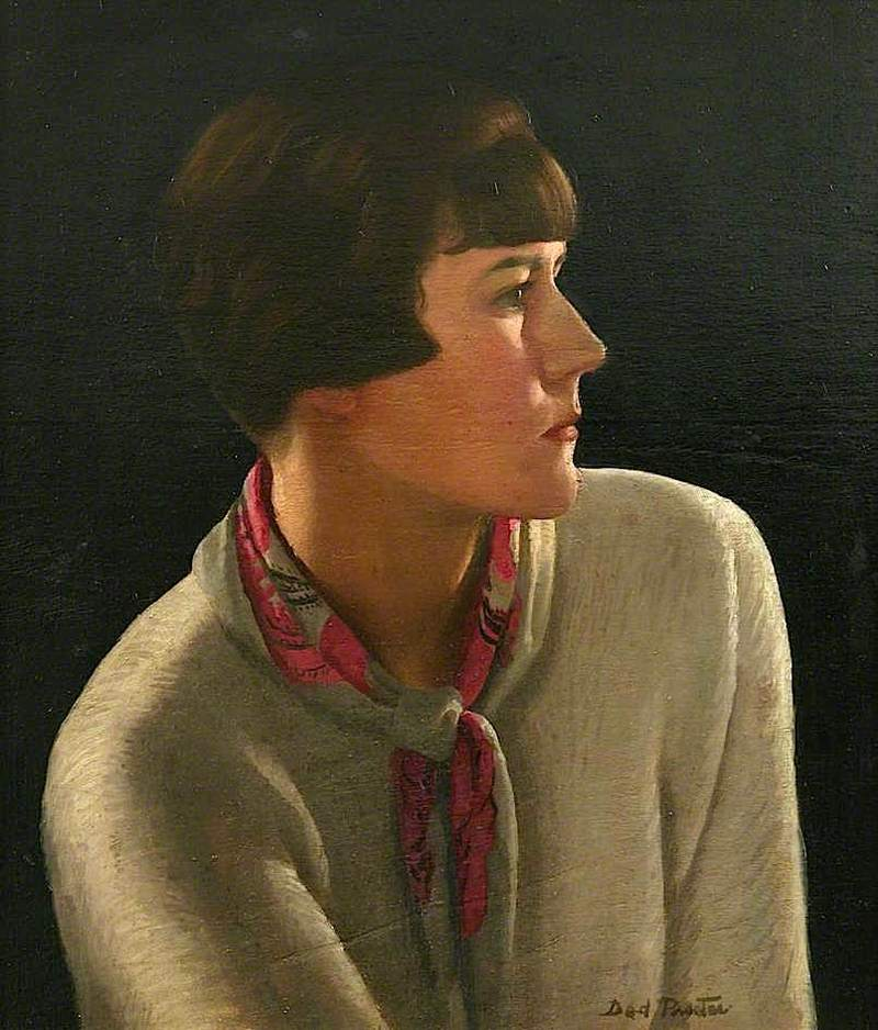 Self Portrait By Dod Procter