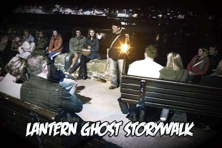 Shanty Baba Lantern Ghost Storywalk St Ives Cornwall