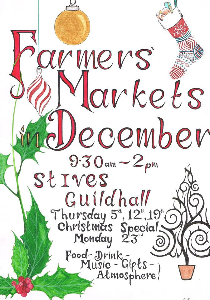 St Ives Farmers Market Christmas