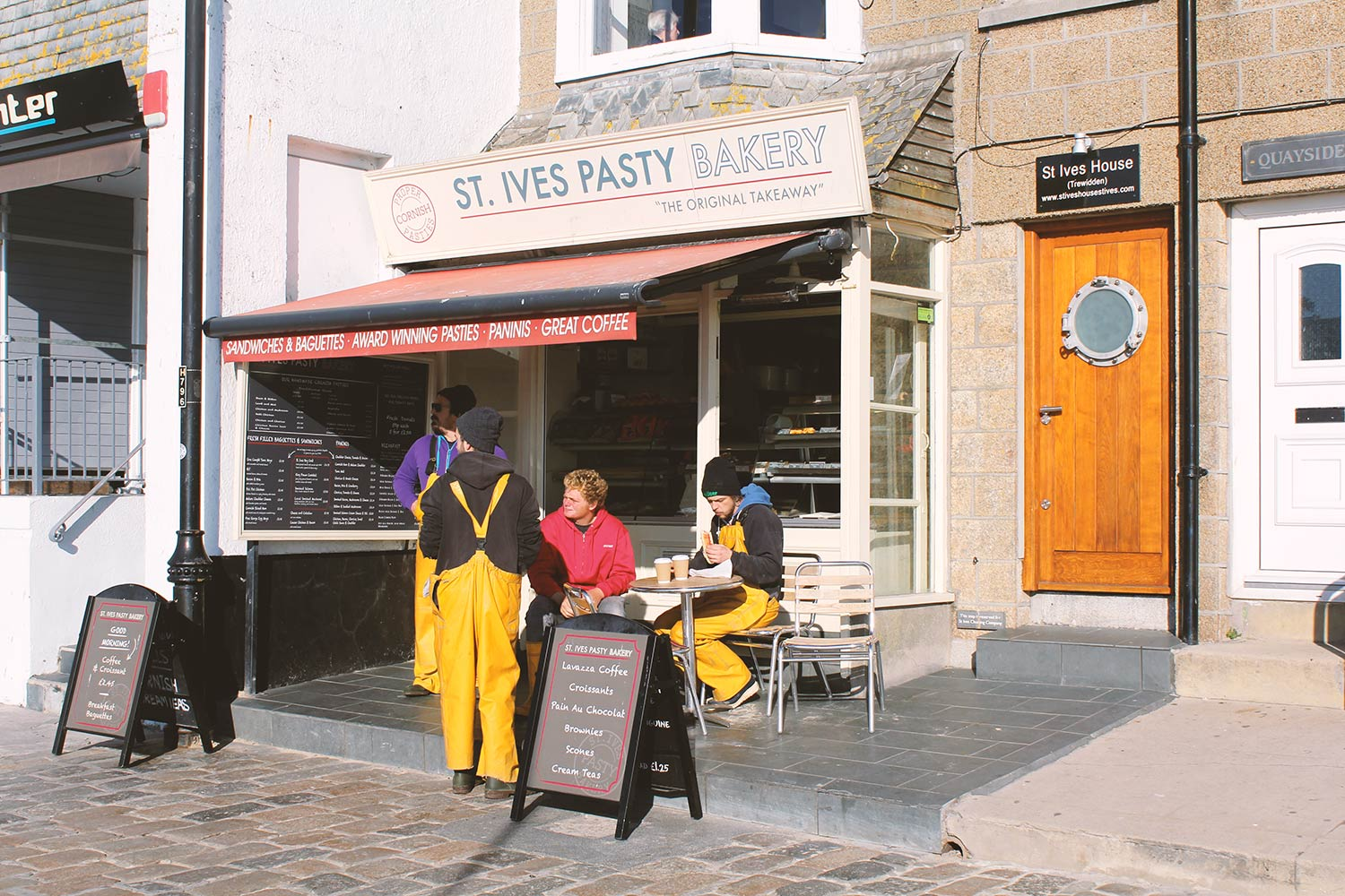 St Ives Pasty Bakery