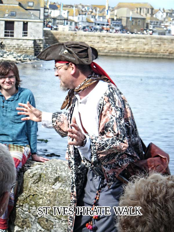 St Ives Pirate Walk