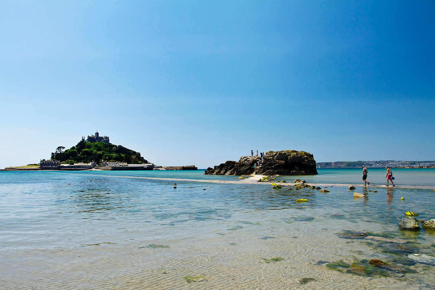 St Michaels Mount Summer 2016 Chapel Rock Mount Credit Mike Newman