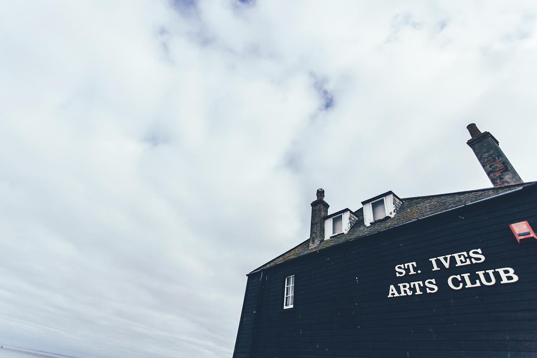 St Ives Arts Club Cornwall