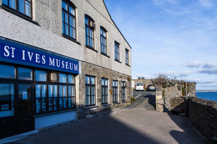 St Ives Museum Exterior