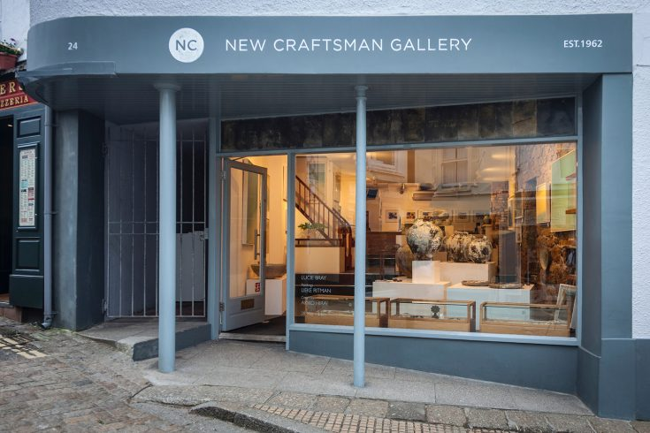 St Ives New Craftsman Gallery Fore Street 1500