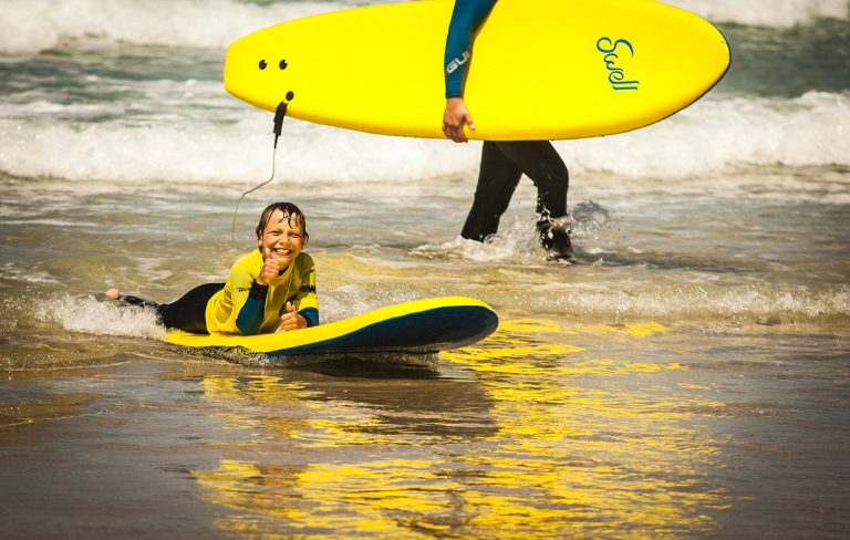 Surf School Happy