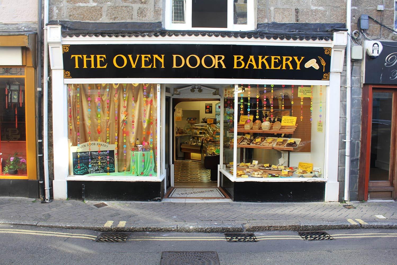 The Over Door Bakery exterior