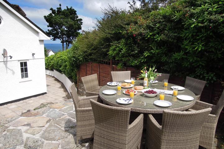 Trenoweth Lodge 6 Garden