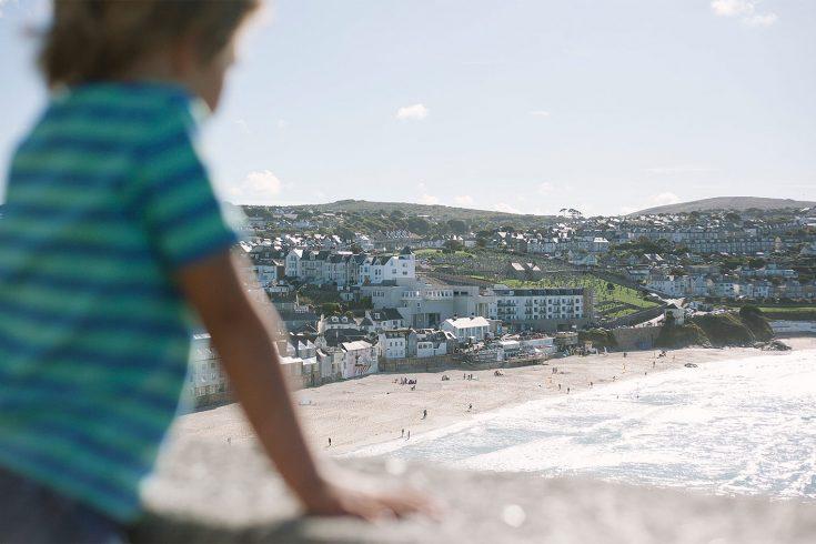 Child on St Ives Beach