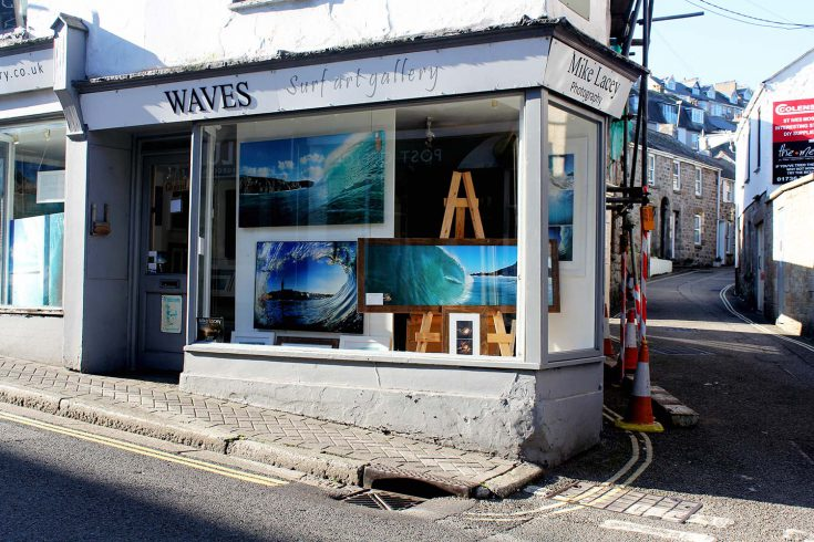 Waves Surf Art Gallery - St Ives