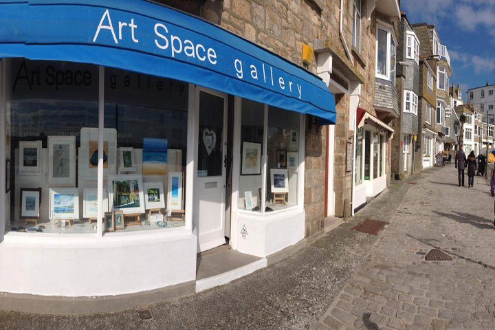 Art Space Gallery Exterior For Visit St Ives