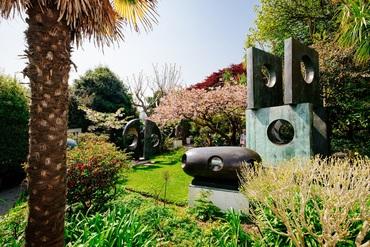 Barbara Hepworth Sculpture Garden 970 Show Events Page
