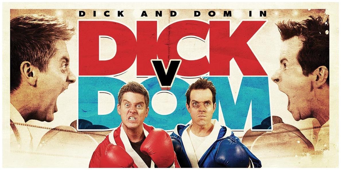 Dick V Dom Eden Project Banner