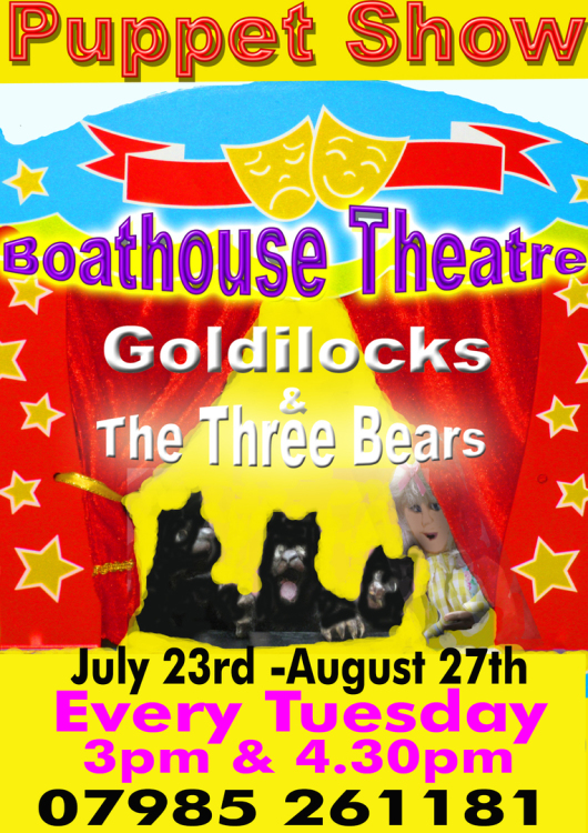 Goldilocks & the Three Bears - Boathouse Theatre