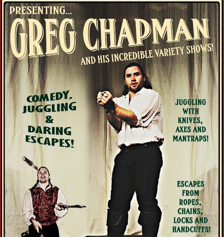 The Greg Chapman Escapologist - Penlee Park