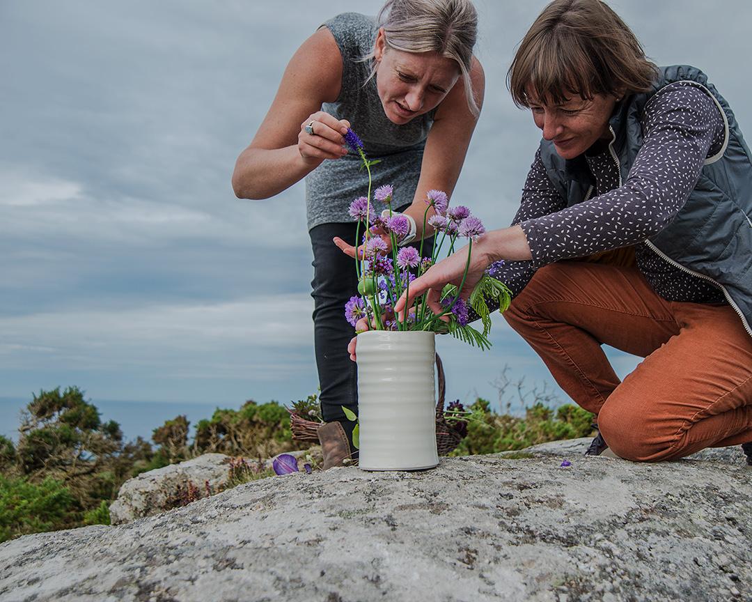 Rebecca Harvey & Polly Carter - Part Earth, Part Flower- Belgrave Gallery