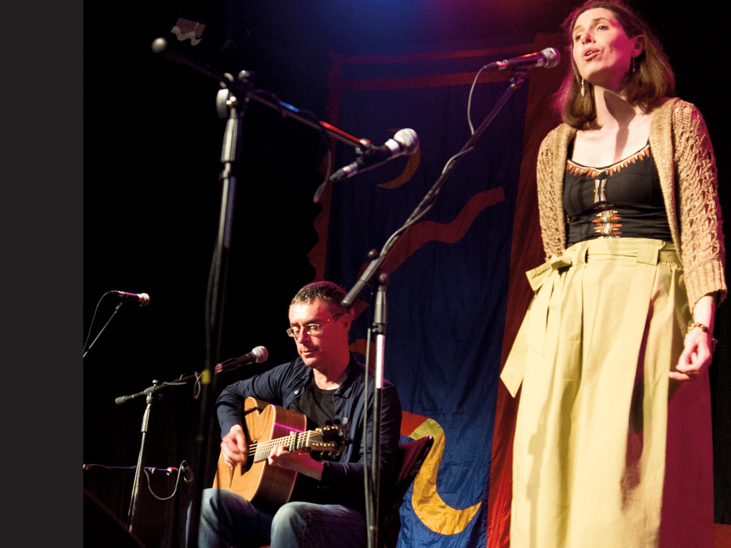 Katie Kirk & Rick Williams at St Ives Guildhall
