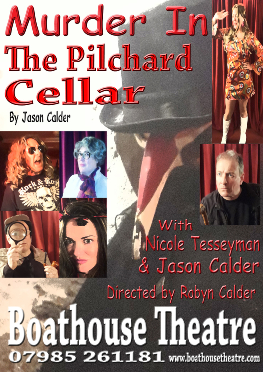 Murder in the Pilchard Cellar- Boathouse Theatre