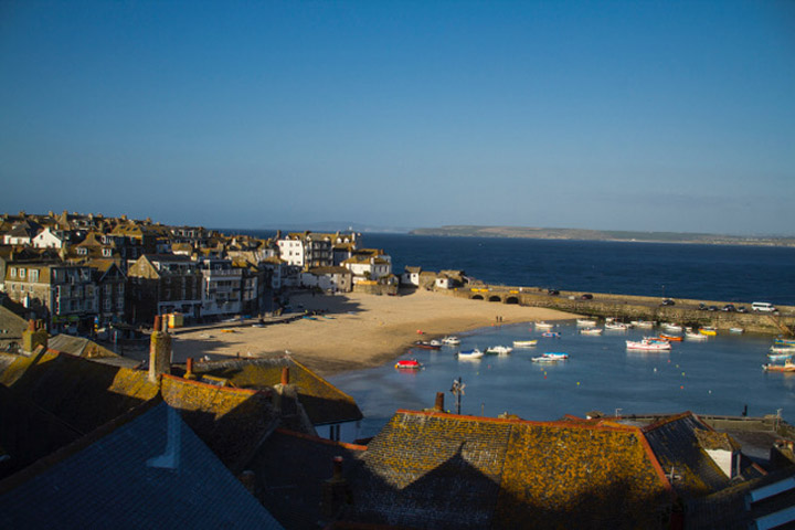 Self Catering Holiday Cottage St Ives View