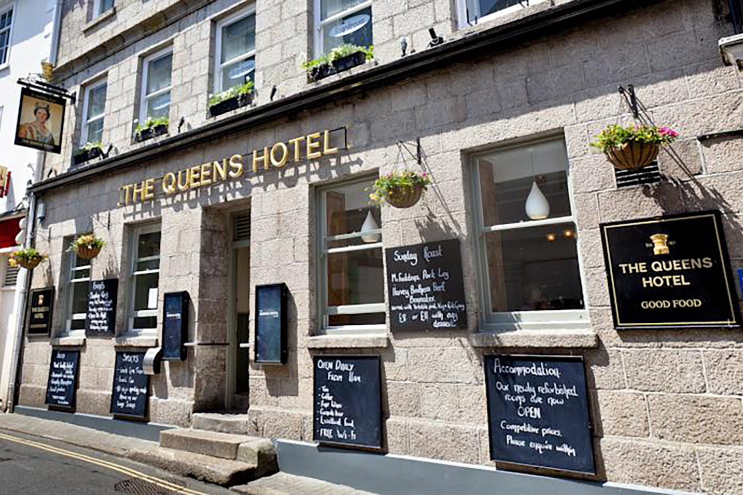 St Ives Cornwall Queens Hotel