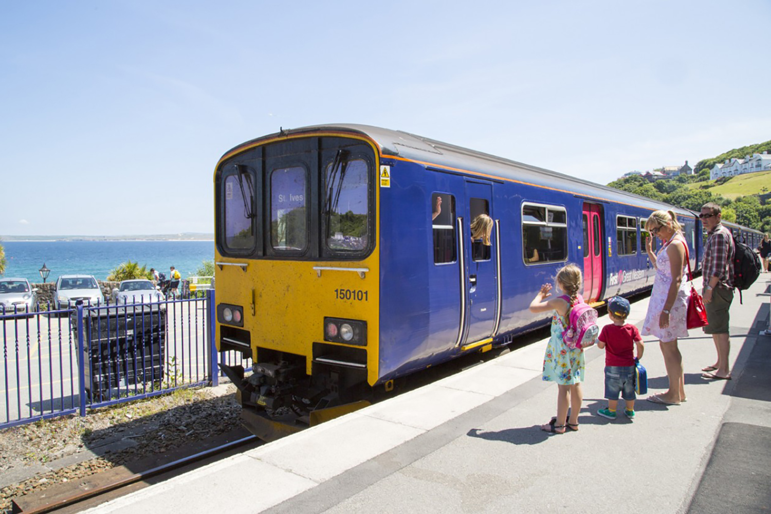 St Ives Cornwall Train Station