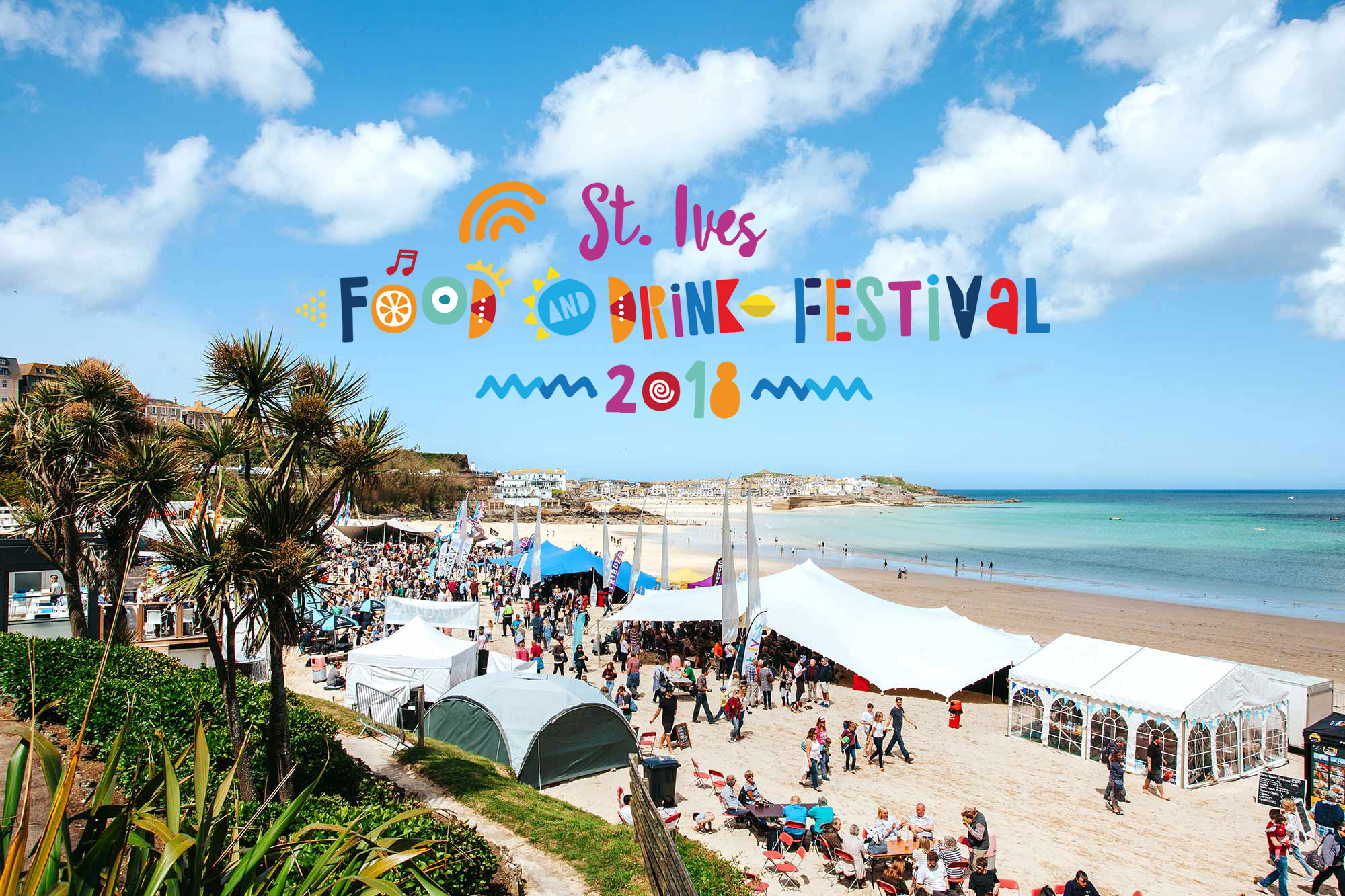 St Ives Food And Drink Festival 2018 St Ives Cornwall