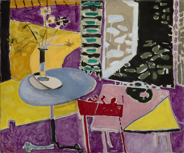 Tate St Ives Patrick Heron Interior With Garden Window Private Collection C Estate